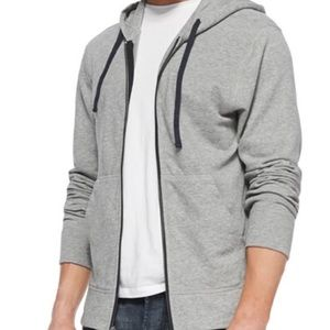 James Peres vintage fleece hoodie heathered gray